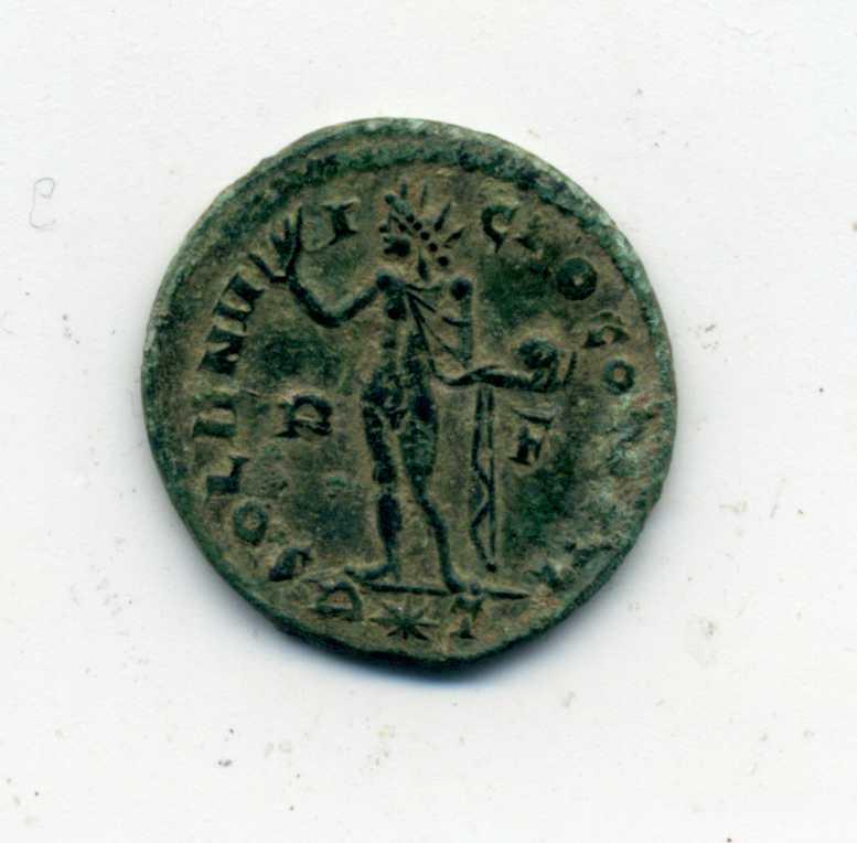 Nummus de Constantino I. SOLI INVICTO COMITI. Roma Rev_co10