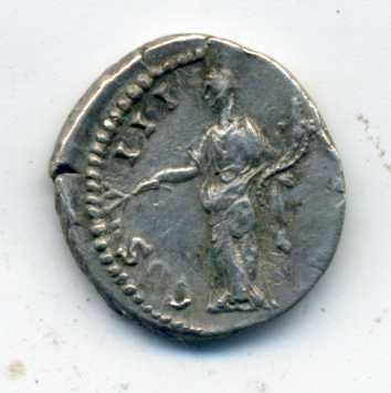 Denario de Antonino Pío. COS III DES IIII. Roma Rev_de10