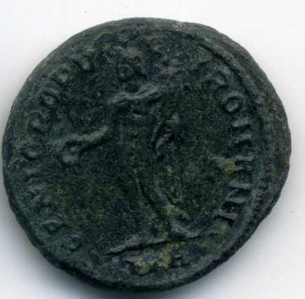 Nummus de Diocleciano. GENIO POPVLI ROMANI. Heraclea Rev_va19