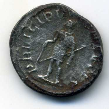 Antoniniano de Herennio Etrusco. PRINCIPI IVVENTVTIS. Roma Rev_va21