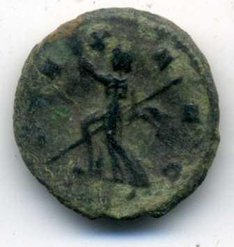 Antoniniano de Claudio II. PAX AVG. Milán Rev_va24