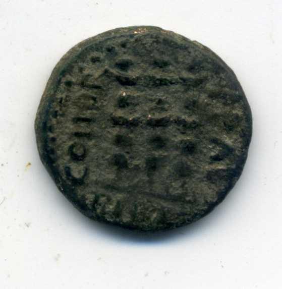 AE18'5 Provincial acuñada en Philippi, Macedonia en tiempos de Claudio I a Nerón Vic_au11