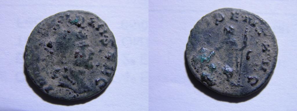 Antoniniano de Quintilo. PROVIDENT AVG. Providentia estante a izq. Roma. P3100010
