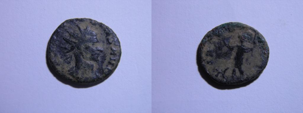 Antoniniano de Claudio II. VIRTVS AVG. Marte pacífero a izq. Roma P3250011