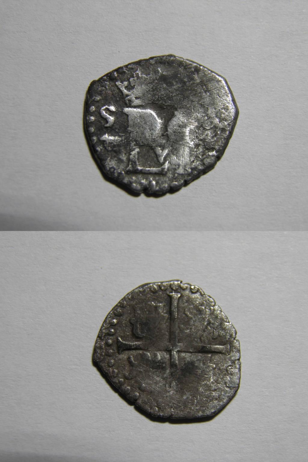 1/2 real. Felipe II. Sevilla P8120110