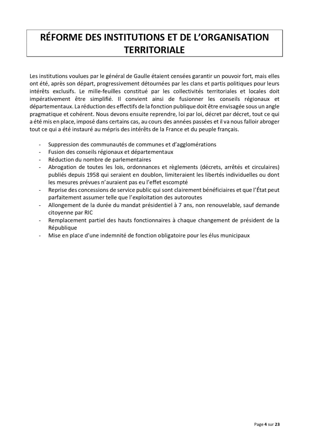 LA TRIBUNE DES GENERAUX .... Projet12