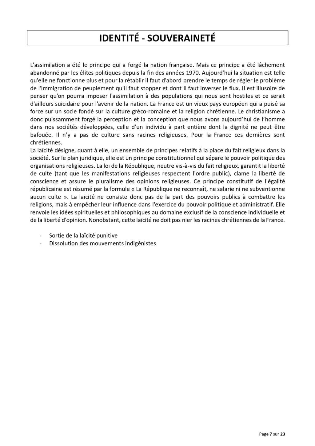 LA TRIBUNE DES GENERAUX .... Projet16