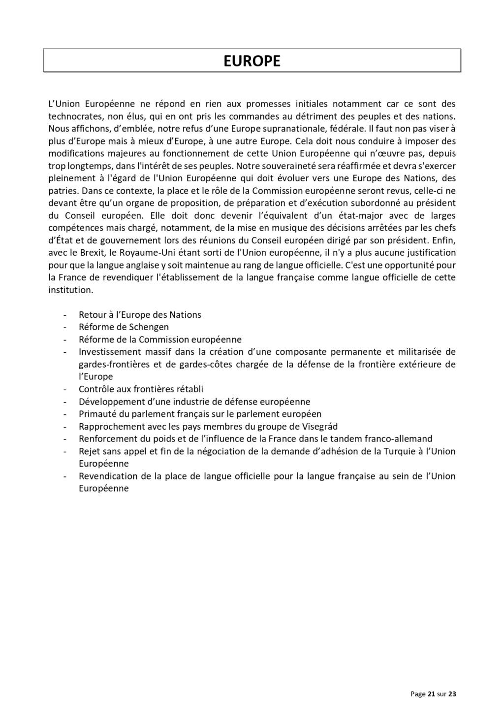 LA TRIBUNE DES GENERAUX .... Projet30