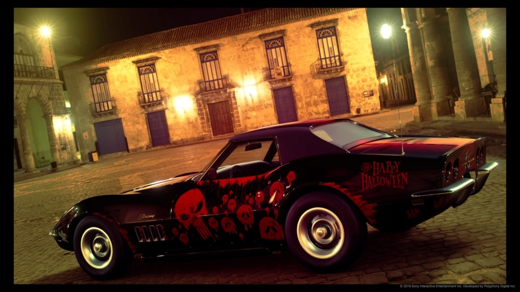 Corvette stingray c2 Halloween édition  Picsar23