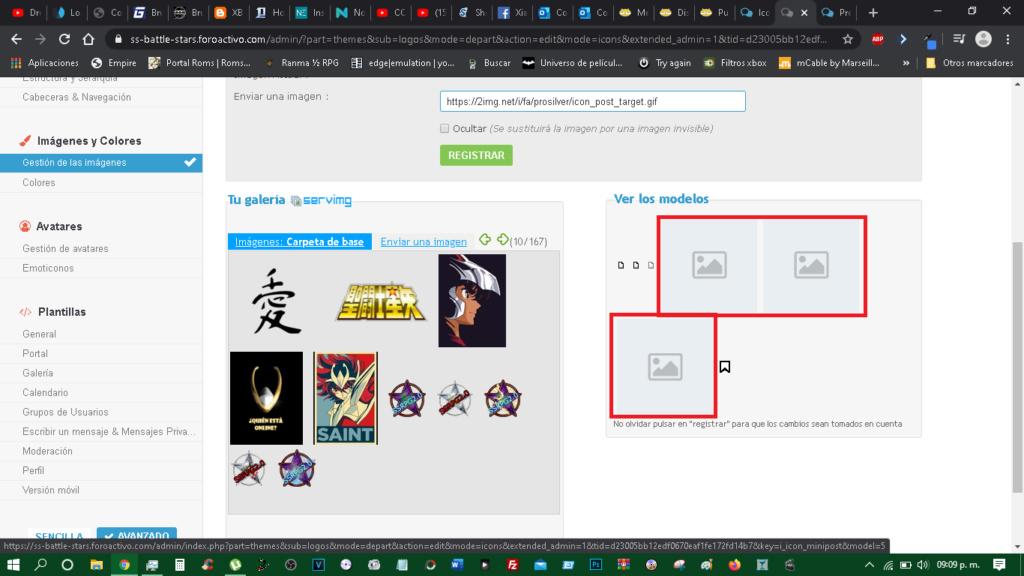 Icono de imagen caída o sin cargar en los anuncios. Iconos10