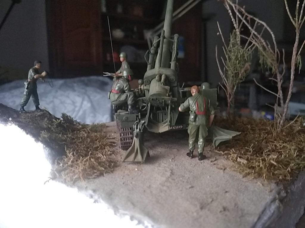 Char AMX 13 canon de 155 en action ...  Réf 81151 Img_2026