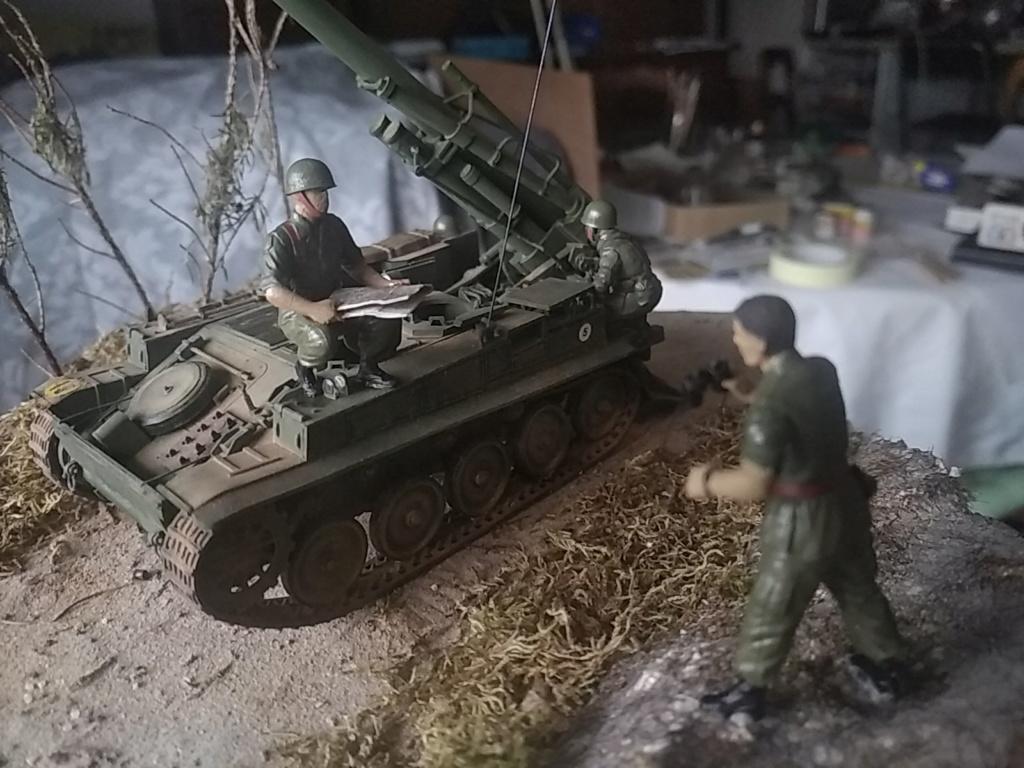 Char AMX 13 canon de 155 en action ...  Réf 81151 Img_2028