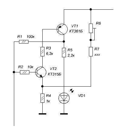 Индикатор выходной мощности (ИВМ-1), разработка... 001_0410