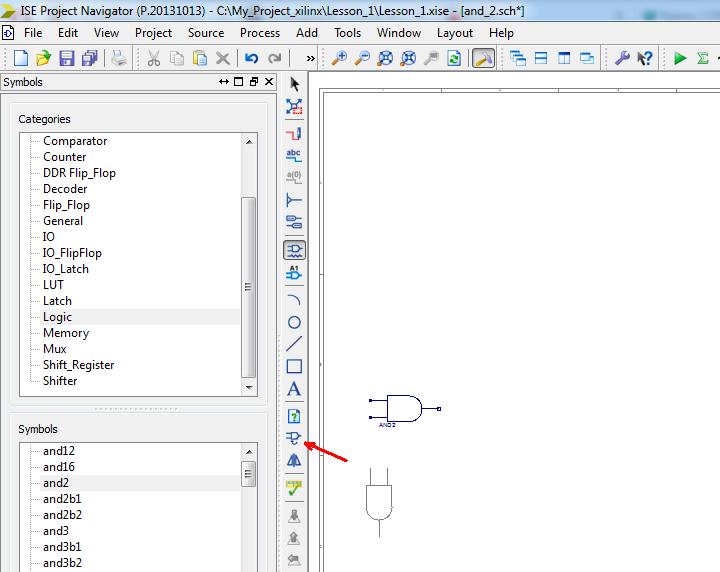 Изучаем основы VHDL, ISE, ПЛИС Xilinx. - Страница 2 019_xi10