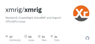 Майнер: Xmrig 443_e912