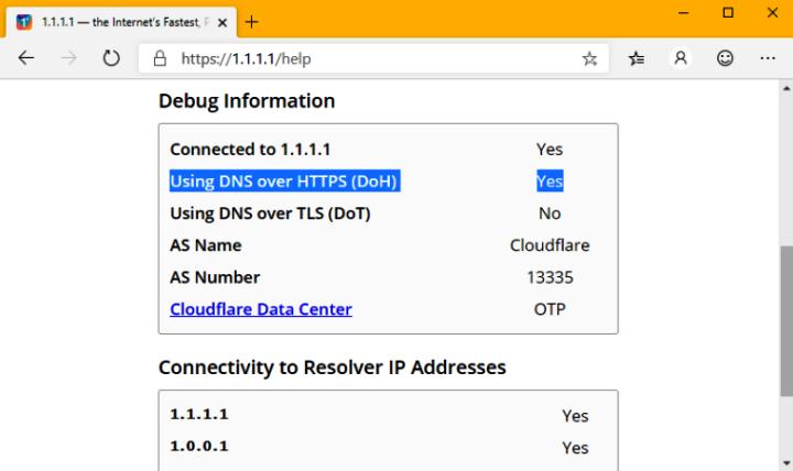 Протокол DNS по HTTPS (DoH). 443_er24