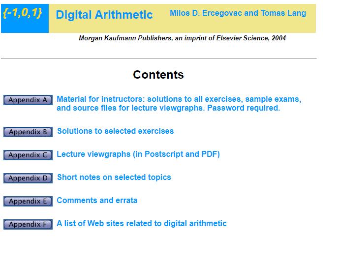 Digital Arithmetic. 444_e255
