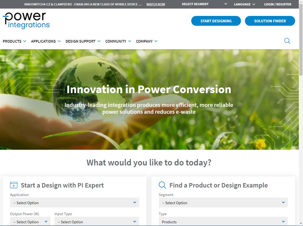Power Integrations (power.com). 444_e282