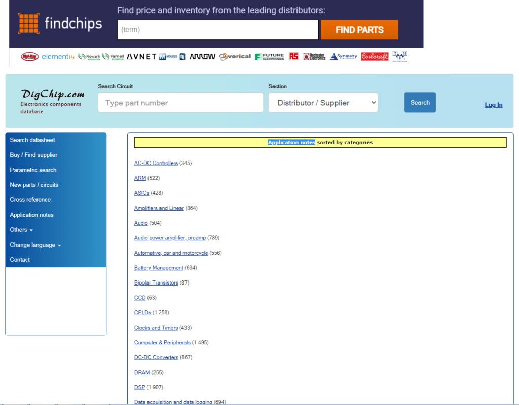 Application notes (digchip.com). 444_e309