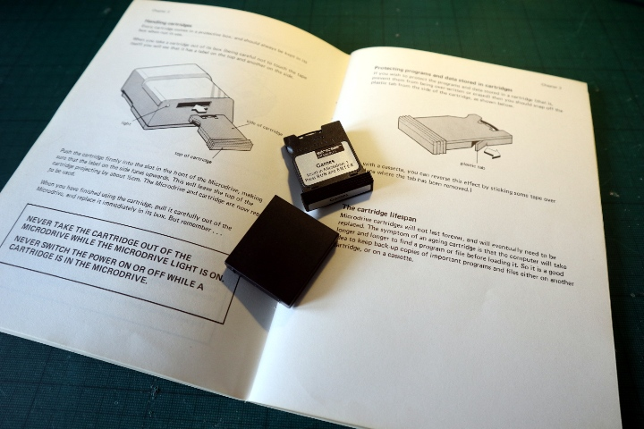 ZX Microdrive Microd17