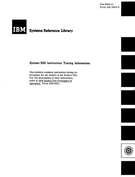 Документация (IBM 360). S_06310