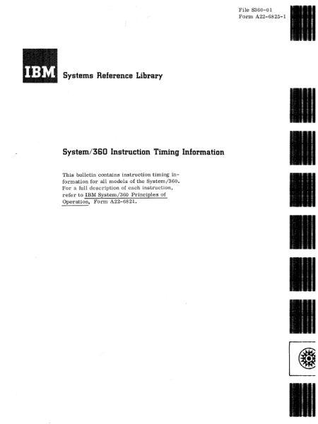 Документация (IBM 360). S_06610