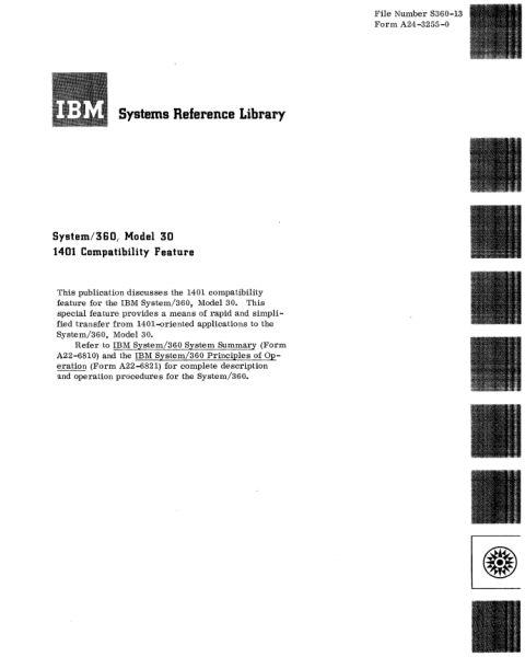 Документация (IBM 360). S_07110