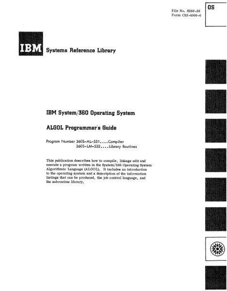 Документация (IBM 360). S_07510