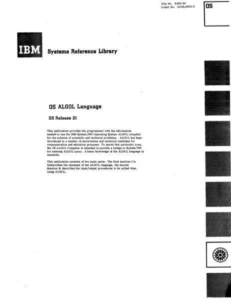 Документация (IBM 360). S_07610