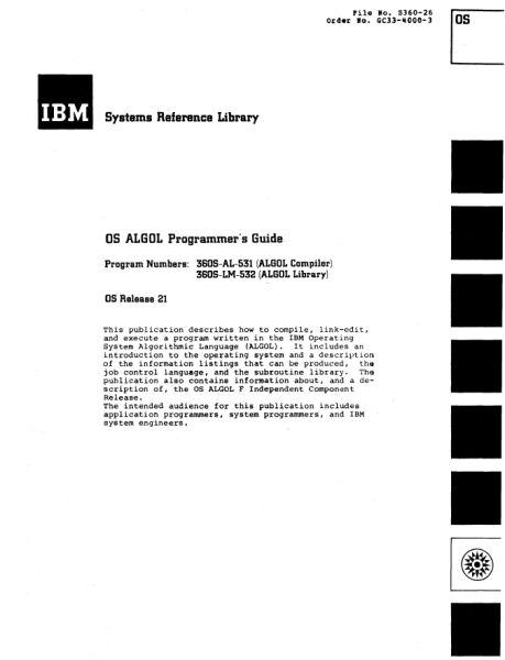 Документация (IBM 360). S_07710