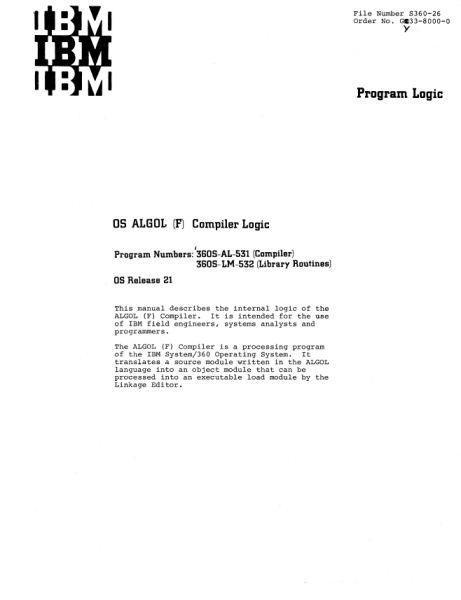 Документация (IBM 360). S_07810