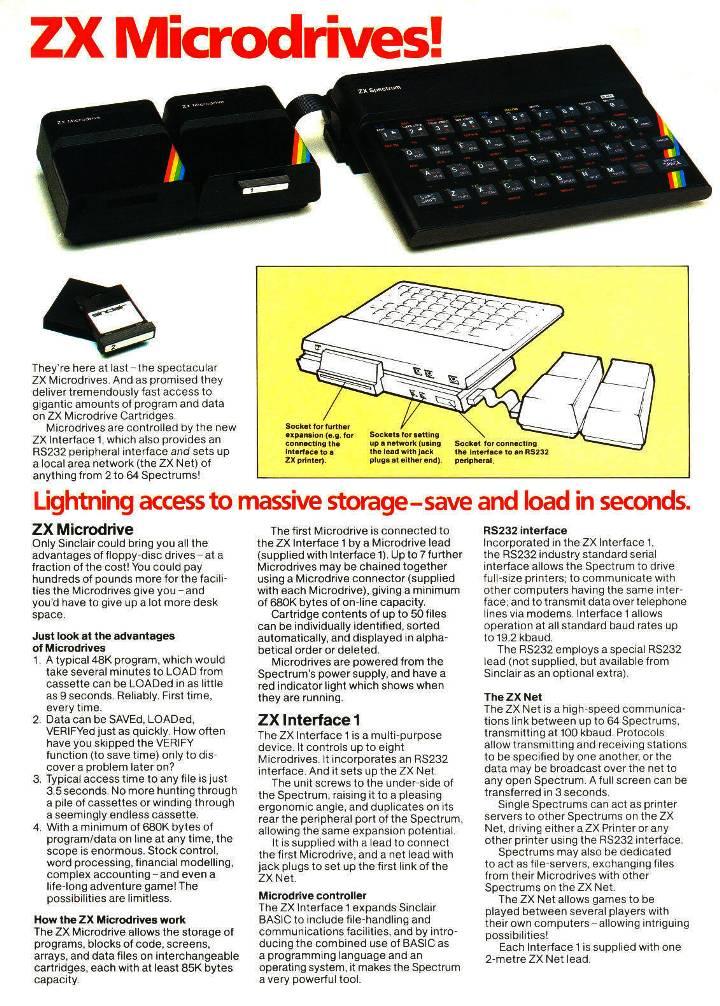 ZX Microdrive Zx787710