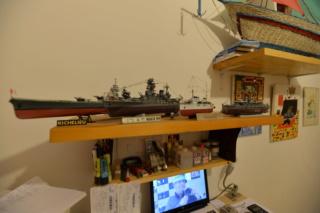 Cuirassé Yamato Tamiya 1/350 Dsc_7314