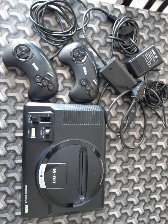 [ESTIM] Console Megadrive et jeux 20210611