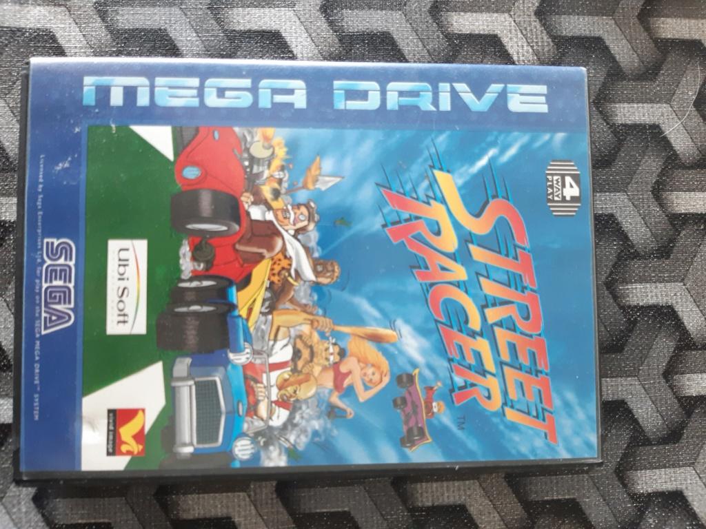 [ESTIM] Console Megadrive et jeux 20210620