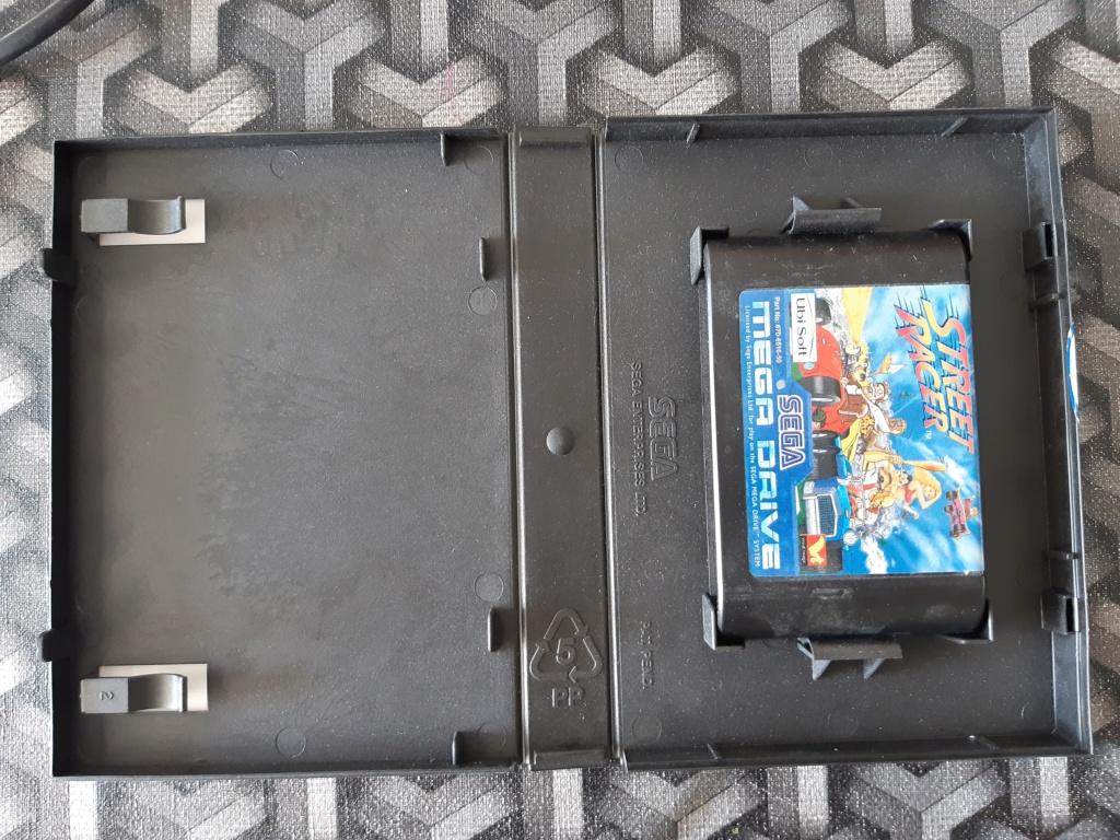 [ESTIM] Console Megadrive et jeux 20210621