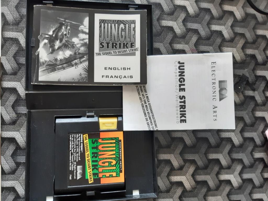 [ESTIM] Console Megadrive et jeux 20210628
