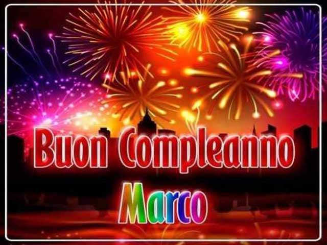 Auguri Marco ..buon compleanno Buon-c11