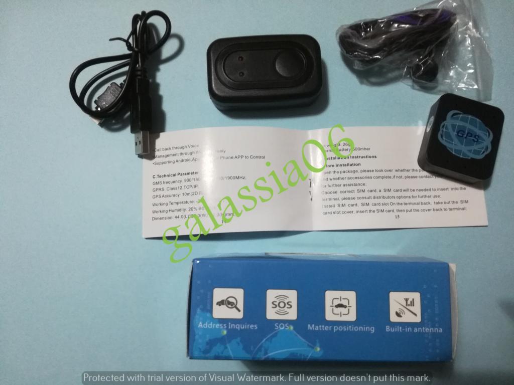 LOCALIZZATORE SATELLITARE GPS GSM GPRS ANTIFURTO TRACKER AUTO MOTO  Img_2071