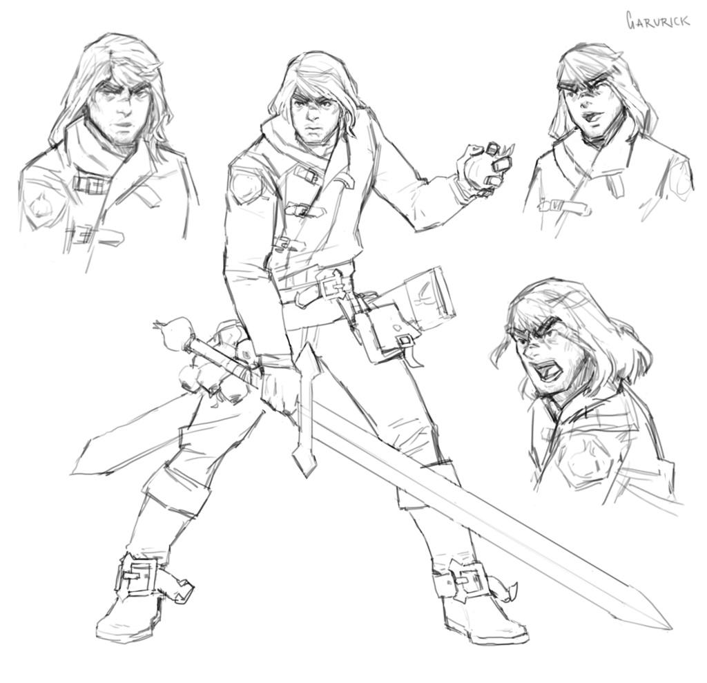 Sic - croquis - Page 2 Vampir10