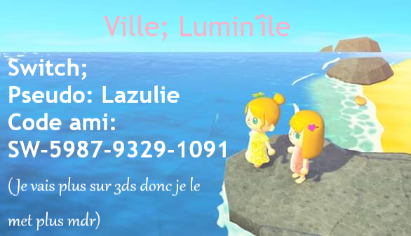 Animal Crossing Switch Lumin10