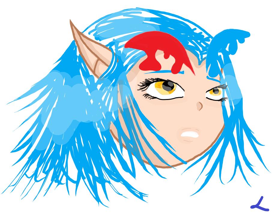 La galerie d'une licorne bleue Shimy_10