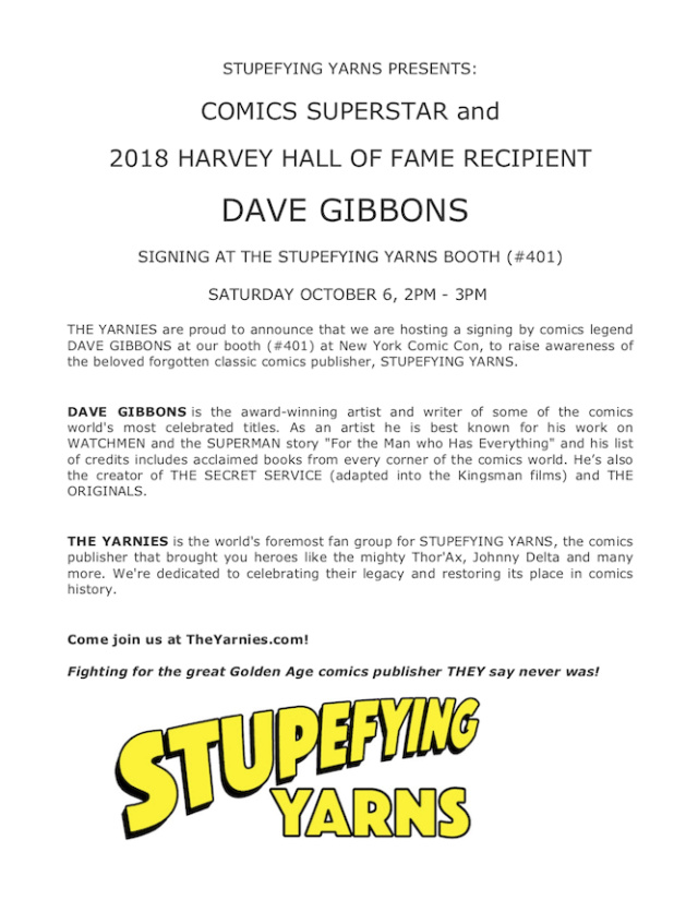DAVE GIBBONS will sign at our booth at Comic Con. Update: and Dennis Calero AND Mike McKone. See schedule thread!!!! Pr_cop10