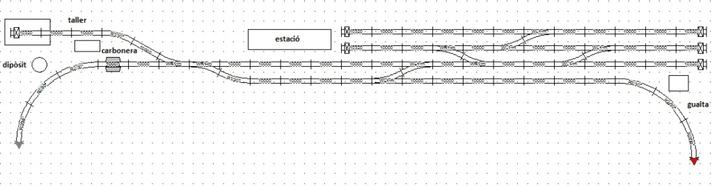 començant de 0: el meu primer circuit escala G [dvdtren] - Página 2 Latera10