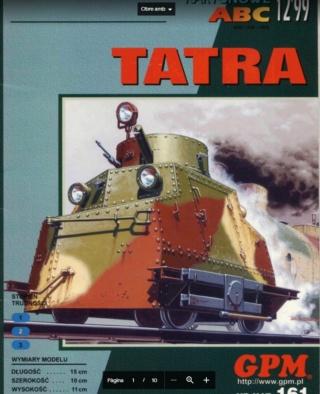 dresina tatra a escala G/IIm Tatra11