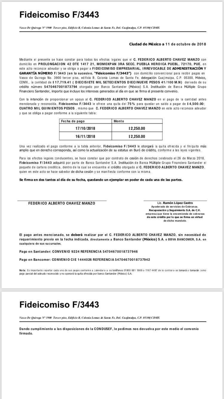 Carta convenio B5678e10
