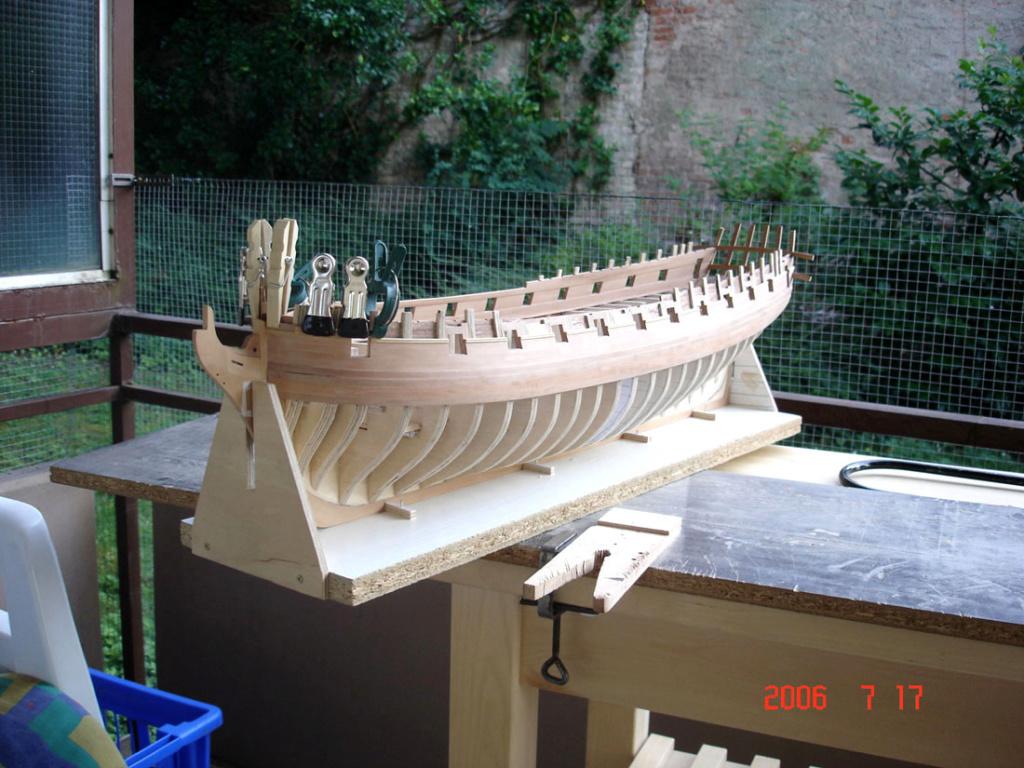 The 20 gun ship Sphinx 1775 at 1/48 Dsc01610