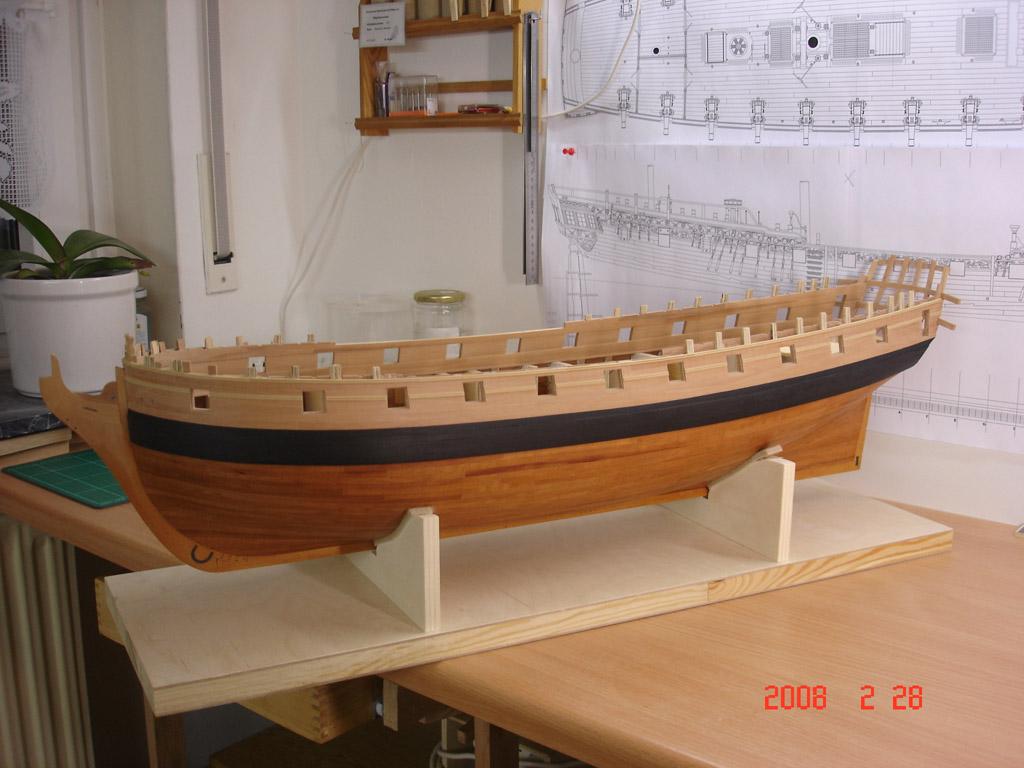 The 20 gun ship Sphinx 1775 at 1/48 Dsc03110
