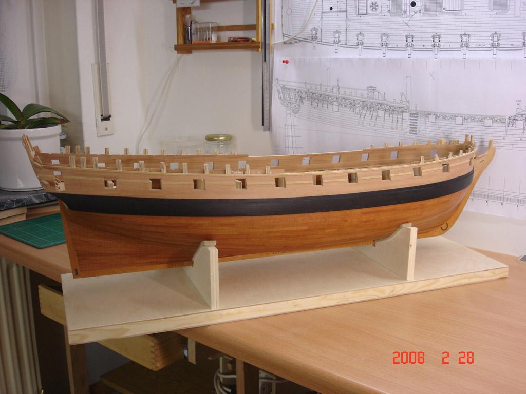 The 20 gun ship Sphinx 1775 at 1/48 Dsc03111
