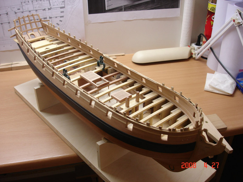 The 20 gun ship Sphinx 1775 at 1/48 Dsc03214